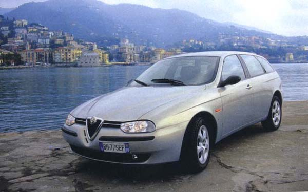Alfa Romeo 156 Sportwagon 2000-2005