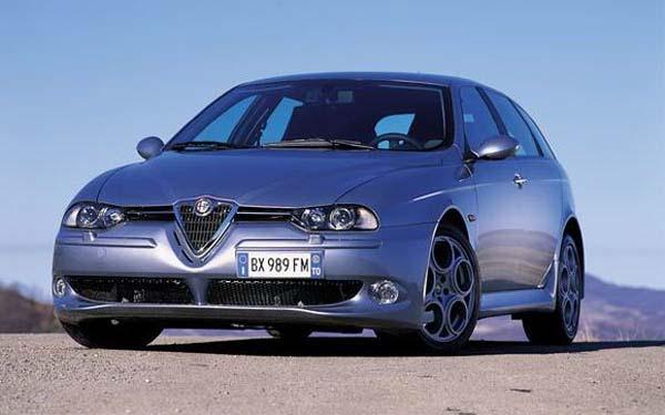 Alfa Romeo 156 GTA Sportwagon 2001-2005