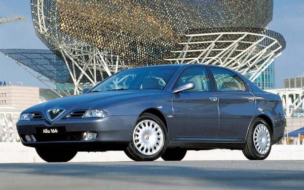 Фото Alfa Romeo 166  (1998-2003)