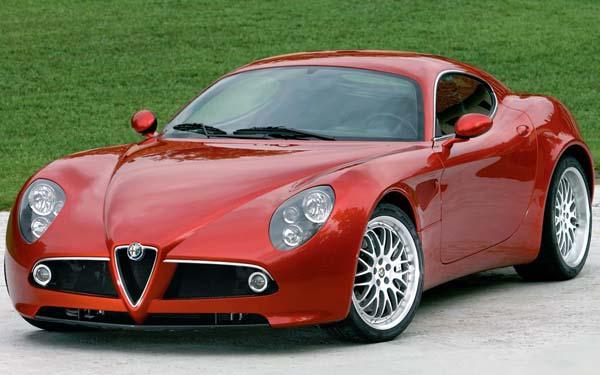 Фото Alfa Romeo 8C Competizione
