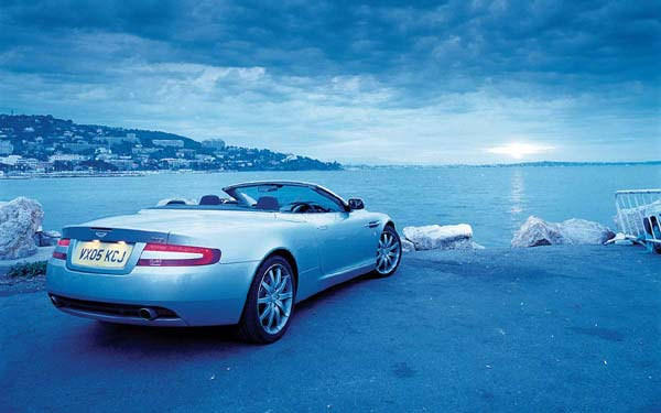 Aston Martin DB9 Volante 2004-2012