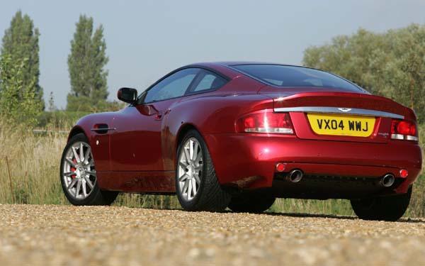 Фото Aston Martin V12 Vanquish S