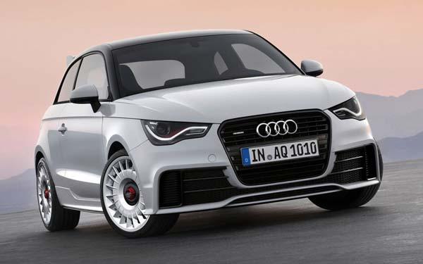 Audi A1 quattro 2012-2014