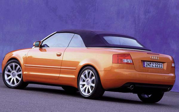 Audi A4 Cabrio 2001-2005