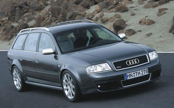 Audi RS6 Avant 2002-2004