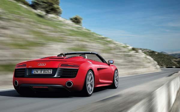 Audi R8 Spyder 2012-2014