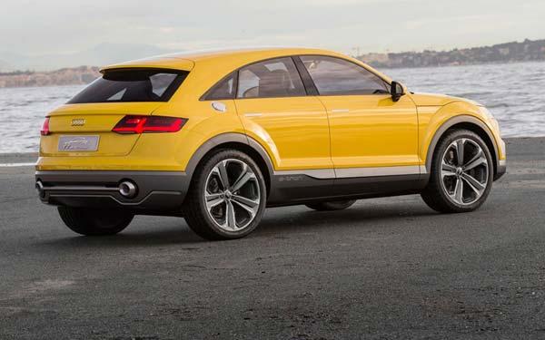 Audi TT Offroad Concept 2014-2018