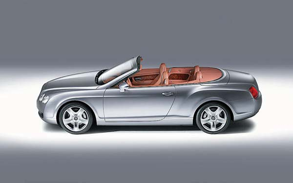 Bentley Continental GTC (2006-2011) Фото #11