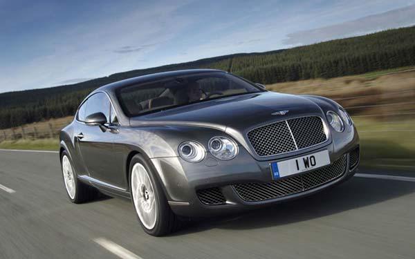 Bentley Continental GT Speed 2007-2011