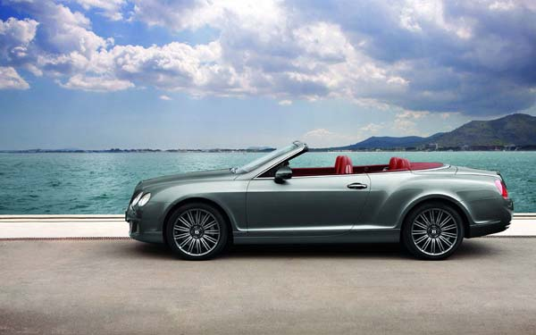 Bentley Continental GTC Speed 2009-2011