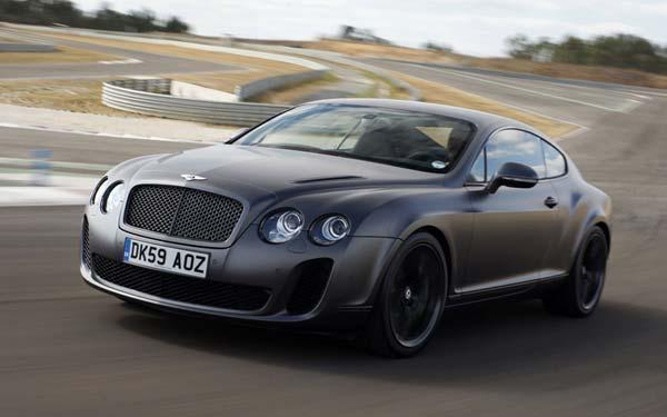 Bentley Continental Supersports 2009-2011