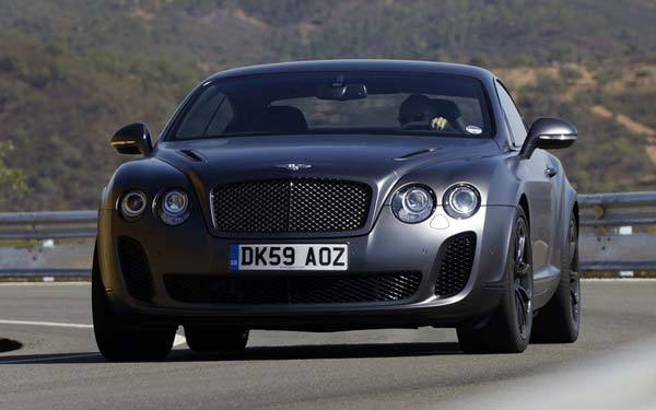 Bentley Continental Supersports (2009-2011) Фото #42