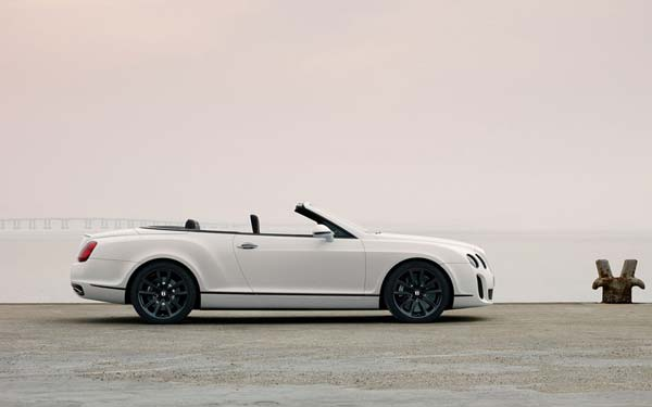 Bentley Continental Supersports Convertible 2010-2011