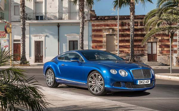 Bentley Continental GT Speed 2012-2015