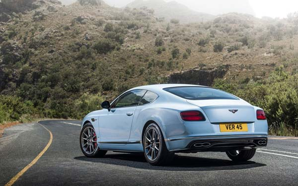 Bentley Continental GT 2015-2017