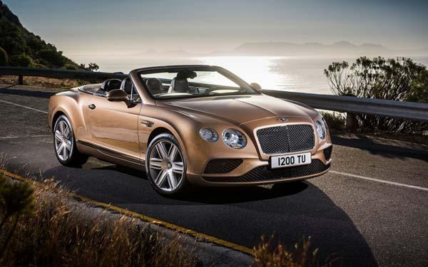 Bentley Continental GTC 2015-2017