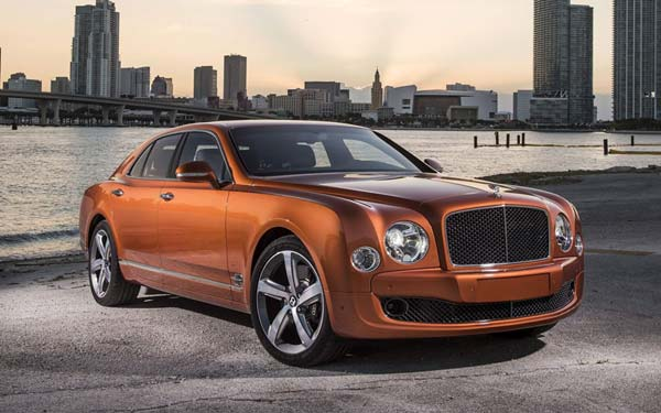 Bentley Mulsanne Speed (2014-2016) Фото #21