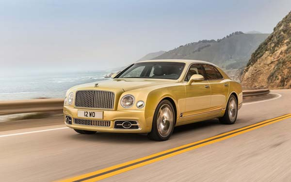 Bentley Mulsanne Speed (2016...) Фото #77
