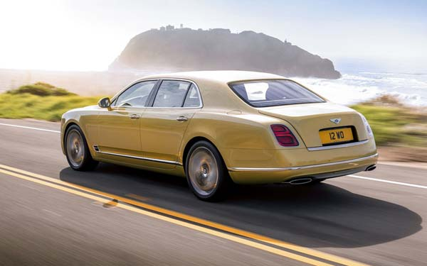 Bentley Mulsanne Speed (2016...) Фото #78