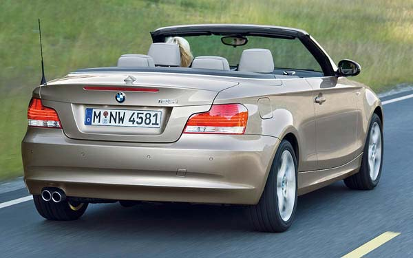 BMW 1-series Convertible 2007-2012