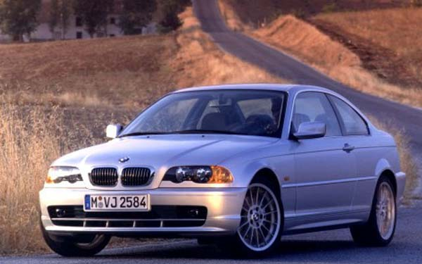 BMW 3-series Coupe 1999-2002