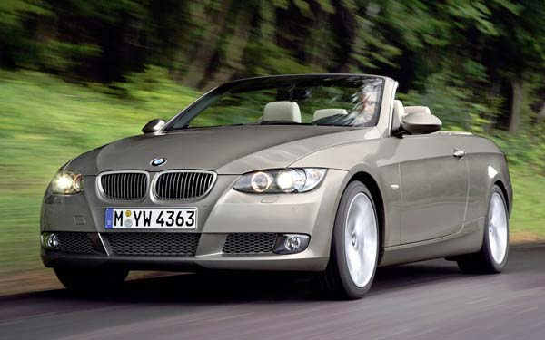 BMW 3-series Convertible 2006-2009