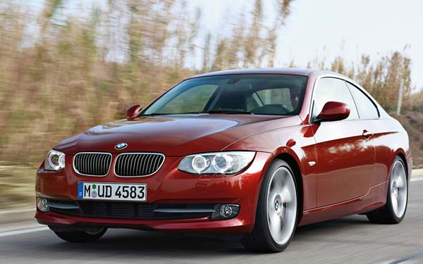 BMW 3-series Coupe 2010-2012
