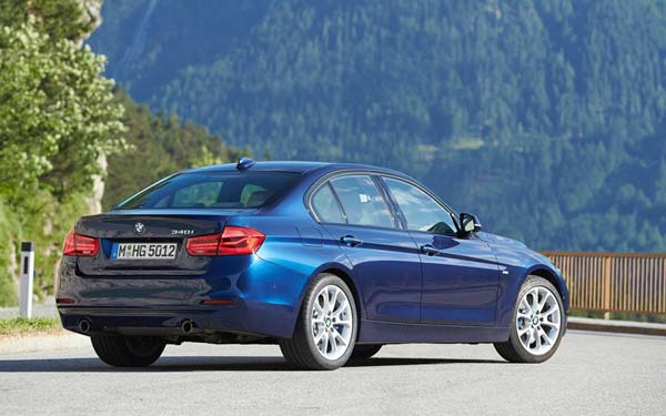 BMW 3-series 2015-2018