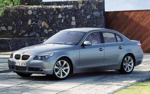 BMW 5-series 2003-2006