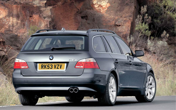 BMW 5-series Touring (2004-2006) Фото #42