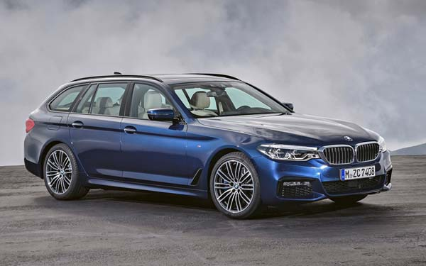 BMW 5-series Touring (2017...) Фото #381