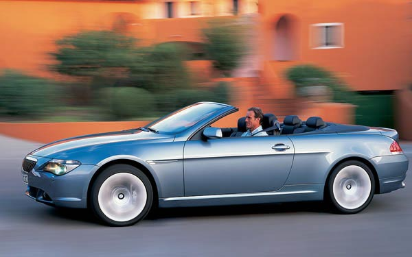 BMW 6-series Convertible 2006-2010