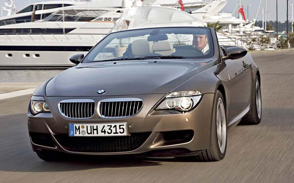 BMW M6 Convertible 2006-2010