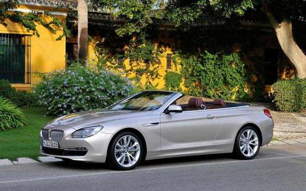 BMW 6-series Convertible (2011...) Фото #41