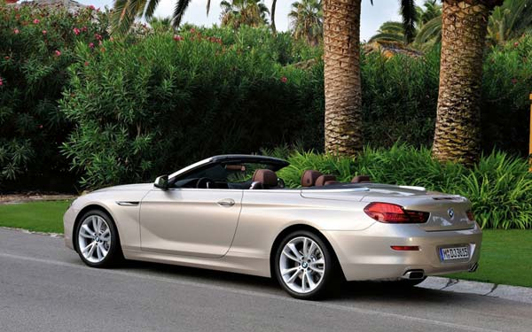 BMW 6-series Convertible (2011...) Фото #42