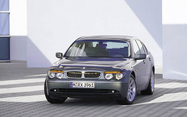 BMW 7-series 2001-2004