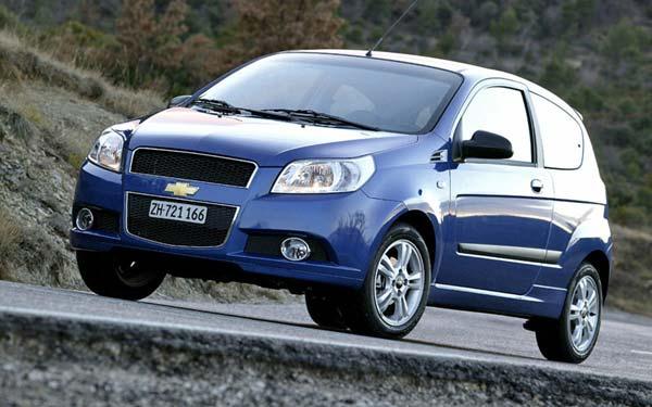 Chevrolet Aveo 3-door 2008-2011