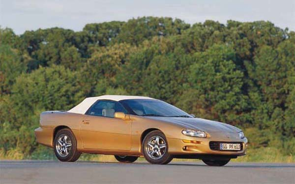 Chevrolet Camaro Convertible 1995-2002