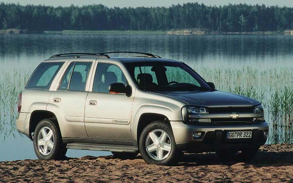 Chevrolet Trailblazer (2002-2009) Фото #11