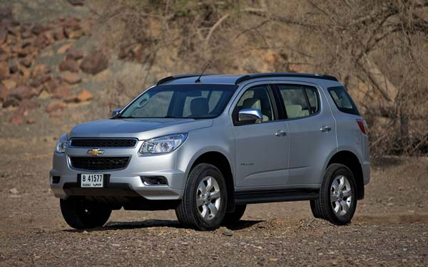 Chevrolet Trailblazer (2012-2016) Фото #31