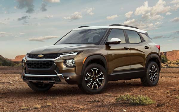 Chevrolet Trailblazer (2020...) Фото #61