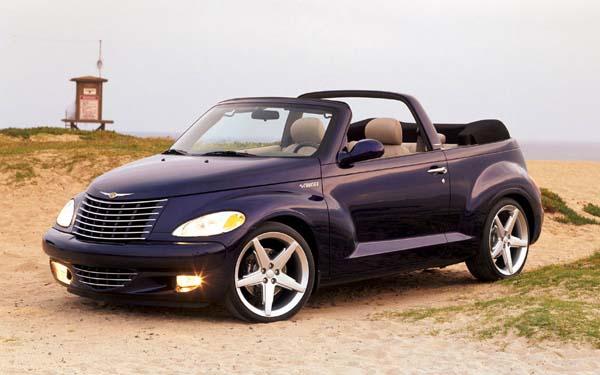 Chrysler PT Cruiser Convertible 2003-2008