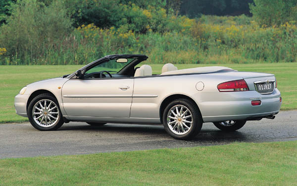 Фото Chrysler Sebring Convertible  (2000-2003)