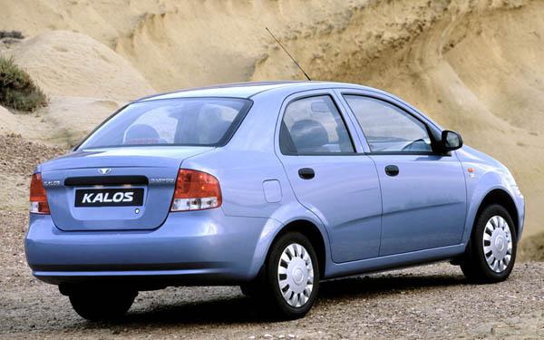 Daewoo Kalos Sedan 2002-2007