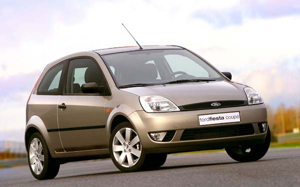 Ford Fiesta 3-Door 2002-2008