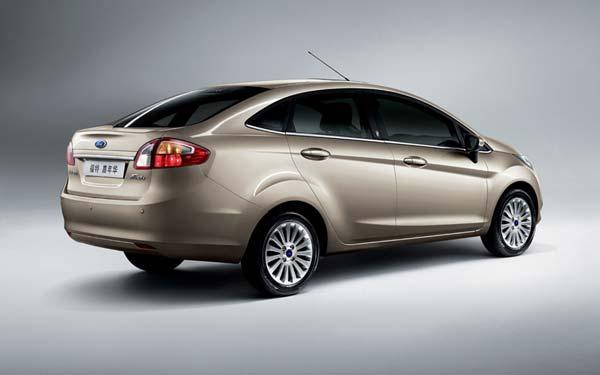 Ford Fiesta Sedan 2010-2012