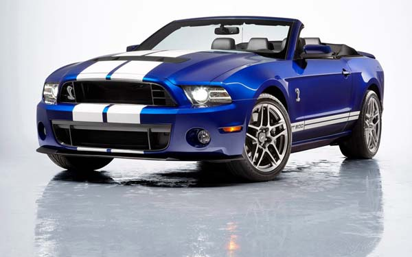 Ford Mustang Shelby GT500 Convertible 2012-2013