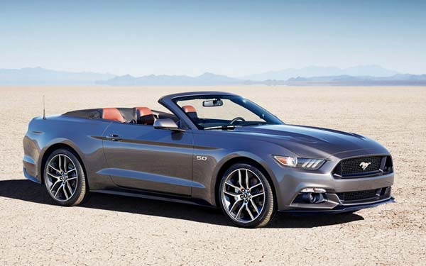 Ford Mustang Convertible 2014-2017