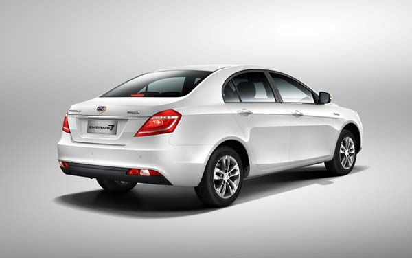 Geely Emgrand 7 2016-2018