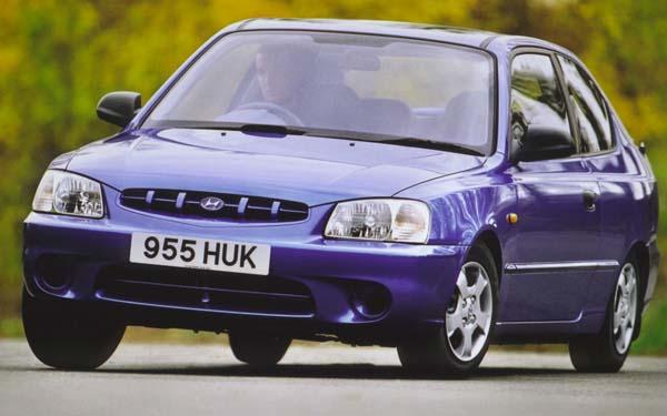 Hyundai Accent Hatchback 2000-2002